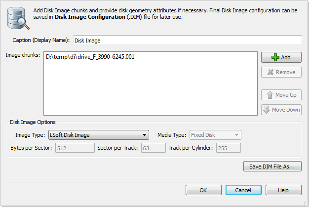 Compose Disk Image